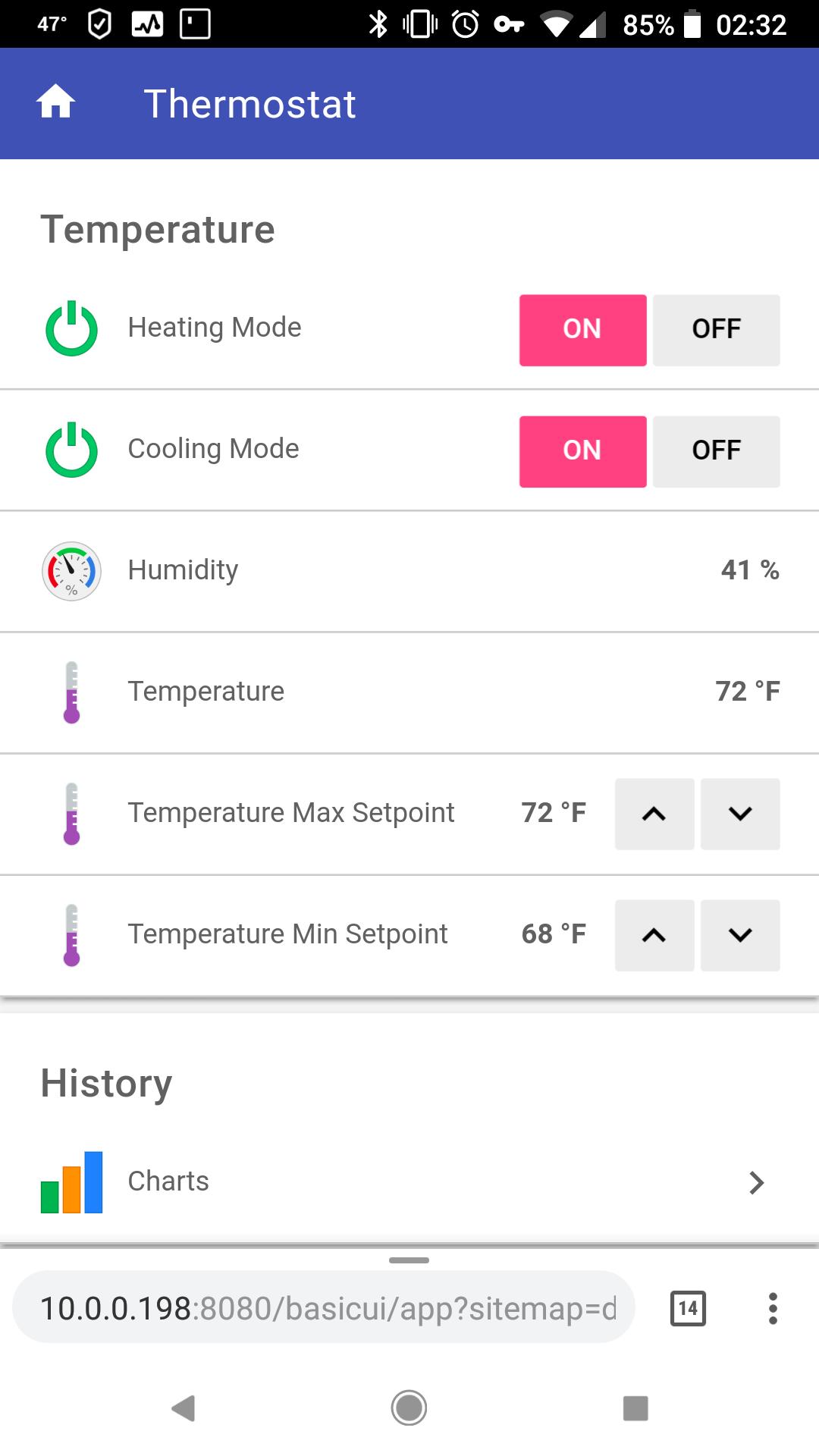 US Hestia Pi Touch HVAC Information - General - HestiaPi
